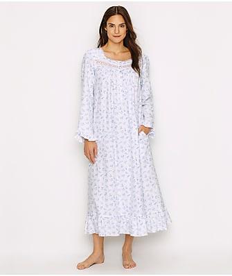 Eileen West Crocus Dream Flannel Nightgown