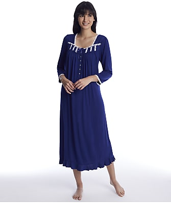 Eileen West Indigo Modal Knit Ballet Nightgown