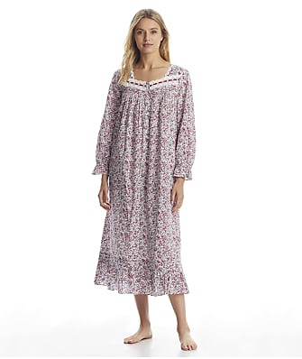 Eileen West Berry Jubilee Ballet Woven Nightgown