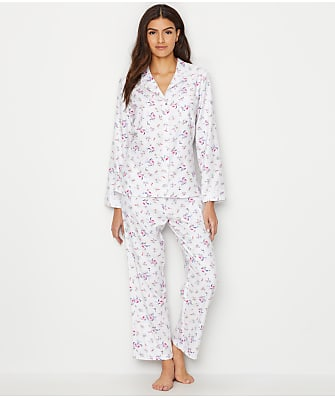 Eileen West Flannel Pajama Set