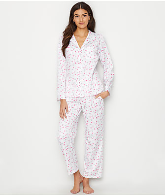 Eileen West Sateen Woven Pajama Set