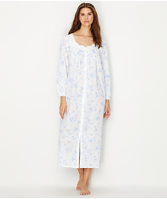 Eileen West Lawn Ballet Floral Print Woven Night Gown