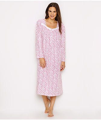 Eileen West Floral Jersey Knit Ballet Nightgown
