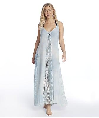 Elan Tie Dye Crochet Maxi Dress Cover-Up