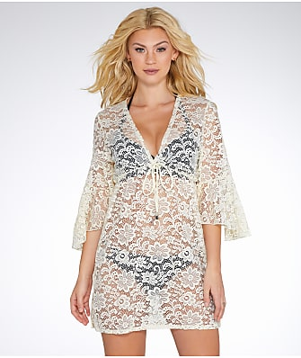 Elan Crochet Lace Cover-Up