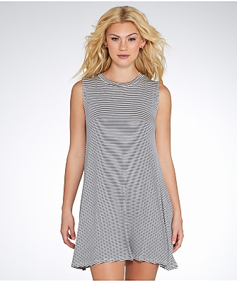 Elan High Neck Cover-Up Dress