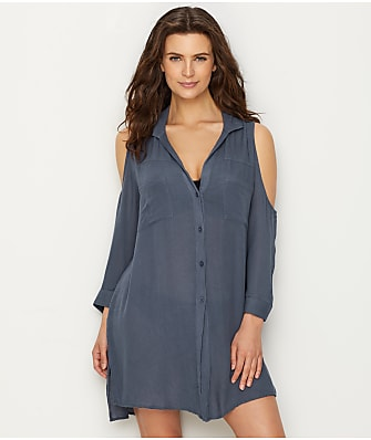 Elan Cold Shoulder Cover-Up