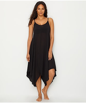 Elan Fishtail Hem Maxi Cover-Up Dress