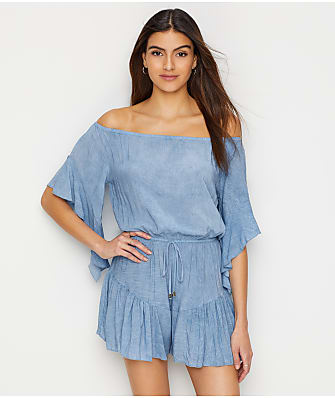 Elan Off-The-Shoulder Romper