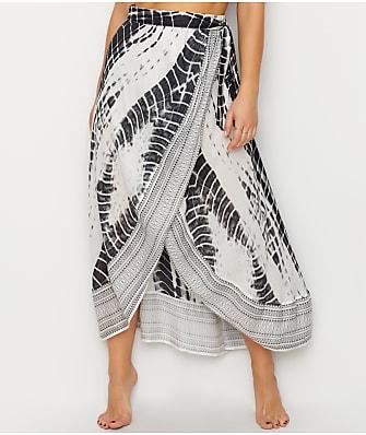 Elan Tie Waist Skirt Cover-Up