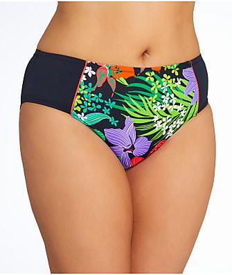 Elomi Cubana Mid Rise Bikini Bottom Plus Size