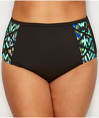 Elomi Plus Size Tribal Instinct Swim Bottom