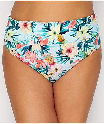 Elomi Plus Size Aloha Fold-Over Bikini Bottom