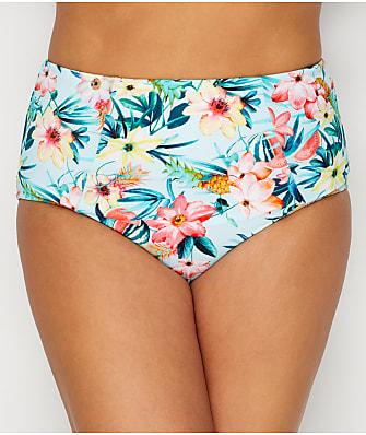 Elomi Plus Size Aloha High-Waist Bikini Bottom