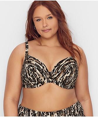 Elomi Plus Size Fierce Plunge Bikini Top
