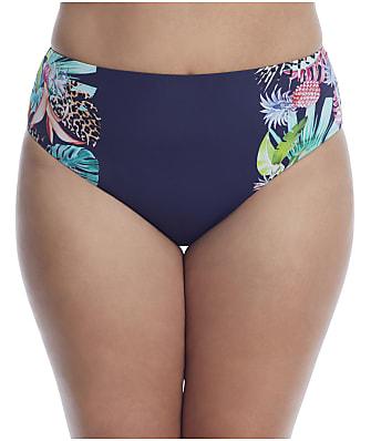 Elomi Plus Size Pina Colada Bikini Bottom