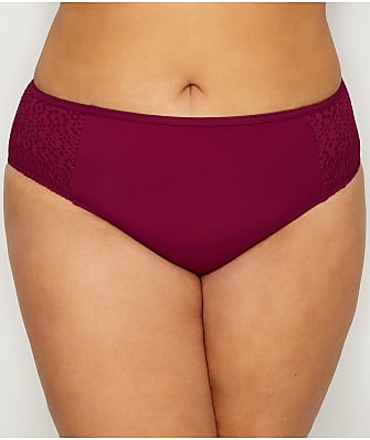 Elomi Plus Size Indie Mid-Rise Bikini Bottom