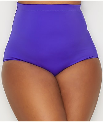 Elomi Plus Size Essentials High-Waist Bikini Bottom