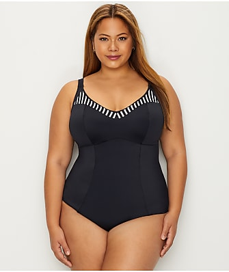 Elomi Plus Size Malibu Days One-Piece