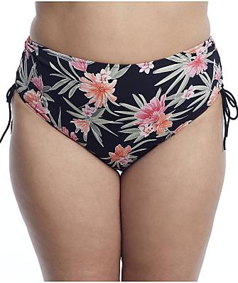 Elomi Plus Size Dark Tropic Adjustable Bikini Bottom