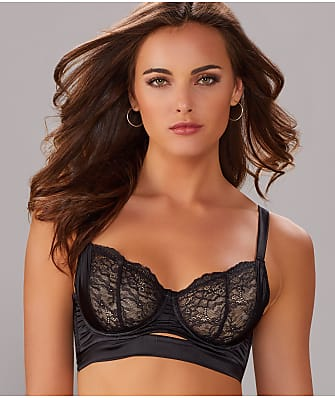 Else Lingerie Signature Silk and Lace Longline Bra