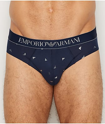 Emporio Armani Shiny Eagles Brief