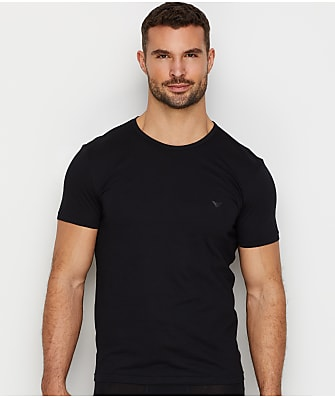 Emporio Armani Pure Cotton Crew Neck T-Shirt 3-Pack