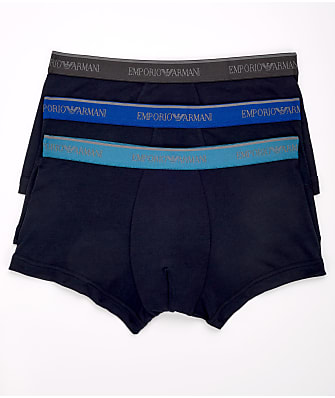 Emporio Armani Classic Stretch Cotton Trunk 3-Pack