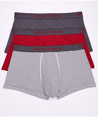Emporio Armani Cotton Trunk 3-Pack