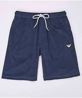 Emporio Armani French Terry Sail Lounge Shorts
