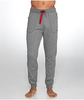 Emporio Armani French Terry Knit Jogger Pants