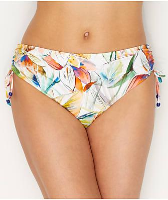 Empreinte Barbade Side Tie Mid Rise Bikini Bottom