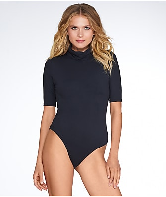 Felina Bodyzone Turtleneck Knit Bodysuit