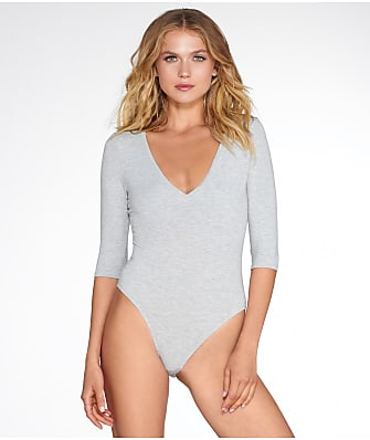 Felina Deep V-Neck Bodysuit