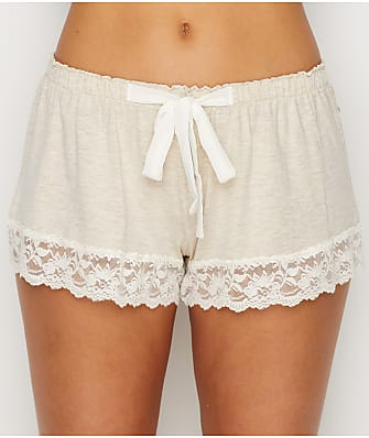 Flora Nikrooz Lace Trimmed Modal Shorts