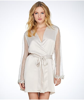 Flora Nikrooz Showstopper Charmeuse Robe