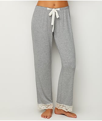Flora Nikrooz Lace Trimmed Modal Pajama Pants