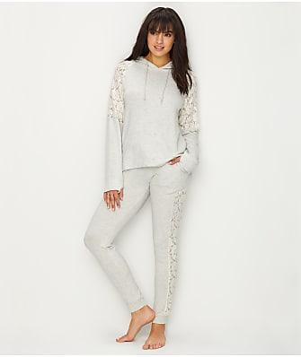 Flora Nikrooz Harley Luxe Brushed Knit Pajama Set