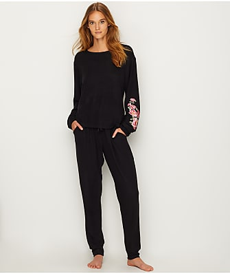 Flora Nikrooz Melrose Embroidered Pajama Set