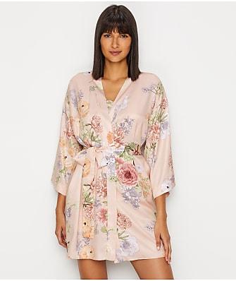 Flora Nikrooz Arisa Charmeuse Kimono Robe