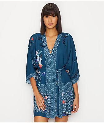 Flora Nikrooz Ariana Woven Kimono Robe