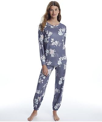 Flora Nikrooz Haliee Knit Jogger Pajama Set