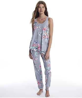 Flora Nikrooz Floral Knit Pajama Set