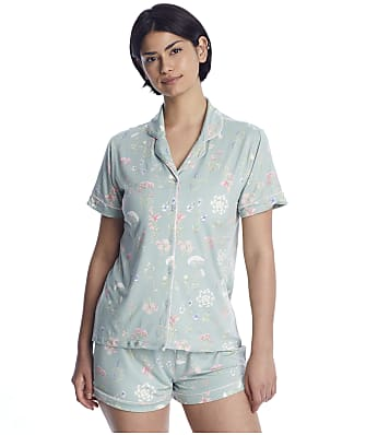 Flora Nikrooz Printed Knit Shorts Set