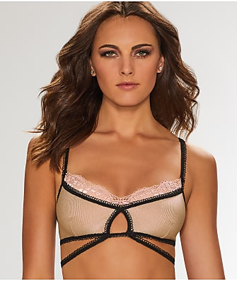 For Love & Lemons Yvette Strappy Bralette