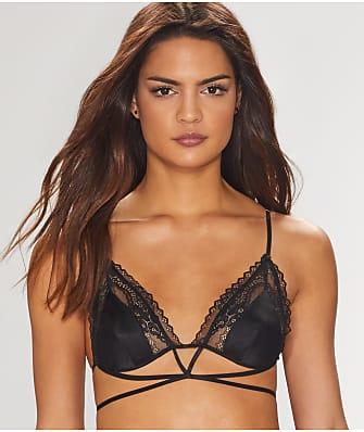 For Love & Lemons Karina Lace Triangle Bralette