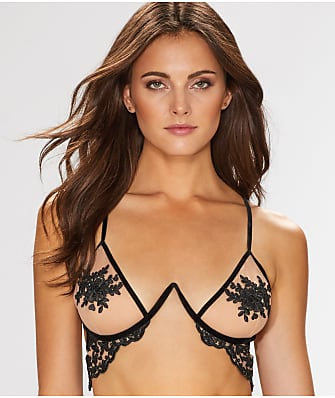 For Love & Lemons Noemi Illusion Bra