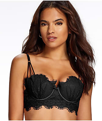 Frederick's of Hollywood Stephanie Lace Longline Bra