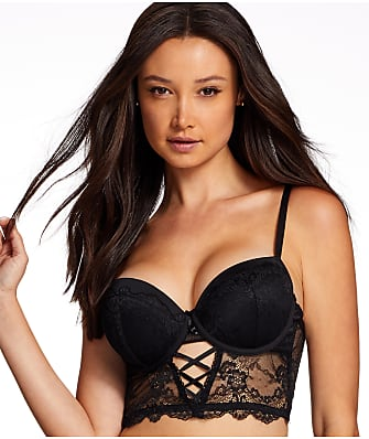 Frederick's of Hollywood Yasmina Longline Push-Up Bra