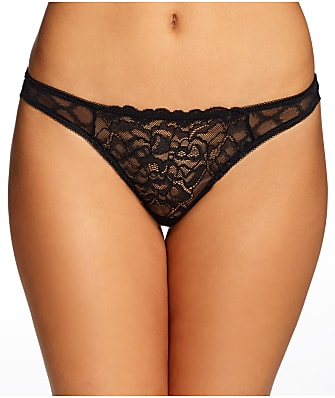Frederick's of Hollywood Dion Lace & Mesh Thong